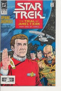 DC Star Trek #10 Very Fine (8.0) Trial of James T. Kirk (860J)