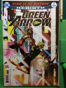 Green Arrow #7 DC Universe Rebirth