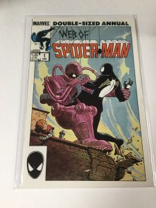 Web Of Spider-Man Double Sized Annual 1 Nm- Near Mint- Marvel