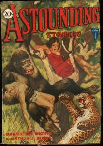 ASTOUNDING STORIES 1931 JUN-MIGHTY MANAPE COVER VG