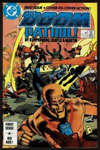 Doom Patrol #1  (Oct 1987, DC)  9.0 VF/NM
