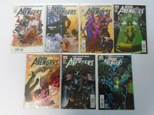 Dark Avengers (2nd Series), Run:#176-182, 7 Different, Average 8.5/VF+ (2012)