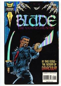 BLADE THE VAMPIRE HUNTER #1 - 1994 1st solo series Marvel