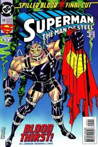 Superman: The Man of Steel #29, NM (Stock photo)
