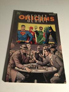 Secret Origins Tpb Fn Fine DC Comics