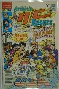 Archie's R/C Racers #1 - 4.0 VG - 1989