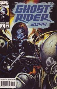 Ghost Rider 2099 #2 VF/NM; Marvel | save on shipping - details inside