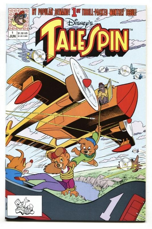 Disney's Tale Spin #1 1991 NM- 1st issue comic book