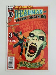 Flashpoint Deadman and The Flying Graysons #3 2011 VF+