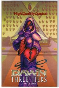 DAWN THREE TIERS #5, NM-, Signed and Limited, Joseph Linsner, more in store
