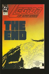 DC Comics Legion of Superheroes The End No 38 December 1992