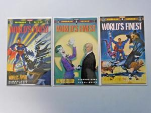 World's Finest Worlds Apart set #1 to #3 - see pics - 8.0 - 1990