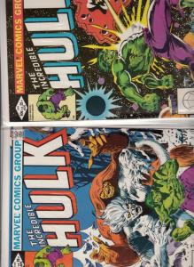 Incredible Hulk Set #270N272 (Jun-83) NM/NM- High-Grade Hulk
