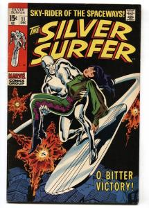 SILVER SURFER #11 comic book MARVEL COMICS 1969 JOHN BUSCEMA  VF