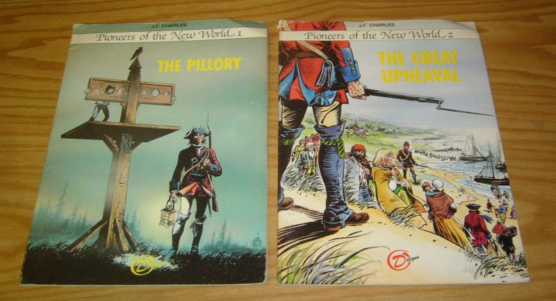 Pioneers of the New World #1-2 FN- complete set - the pillory - great upheaval