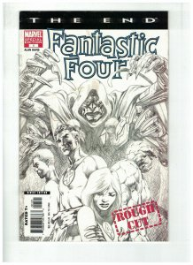 FANTASTIC FOUR THE END (2006) 1 F ALAN DAVIS PENCIL CVR