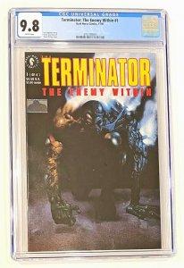 The Terminator  # 1   The Enemy Within  Comic CGC 9.8 1991   Edginton Bisley   .