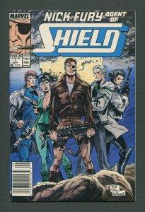 Nick Fury Agent of Shield #1  /  8.5 VFN+ / September 1989