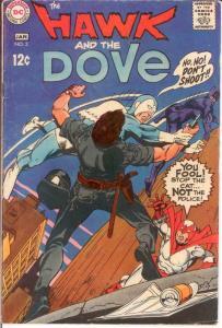 HAWK & DOVE (1968) 3 VG Jan. 1969 COMICS BOOK