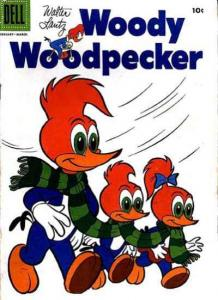 Woody Woodpecker (1947 series) #35, Fine+ (Stock photo)