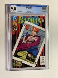 Batman 472 cgc 9.8 wp dc comics