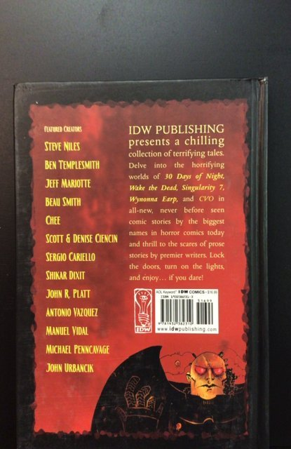 Tales of Terror volume #1 (2004)