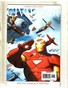 12 Comics Civil War Battle Damage Report 1 Front Line 3 4 5 8 11 +MORE HY3