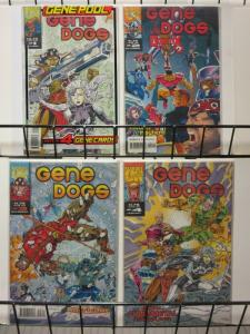 GENE DOGS(1993 MUK)1(10/93;W/CARDS),2-4