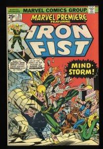 Marvel Premiere #25 VF/NM 9.0 Comics Iron Fist 1st John Byrne in title!