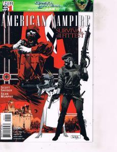 Lot Of 2 Comic Books Vertigo American Vampire #1 and American Virgin #3 MS12
