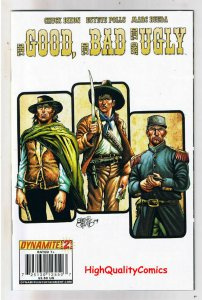 THE GOOD BAD and THE UGLY 2 Variant, NM-, Clint Eastwood, 2009, more in store