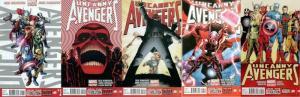 UNCANNY AVENGERS (2012) 1-5 X Men Avengers together