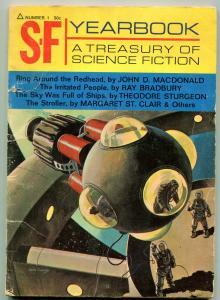 S-F Yearbook Magazine #1 1967- John D MacDonald- Theodore Sturgeon- Bradbury