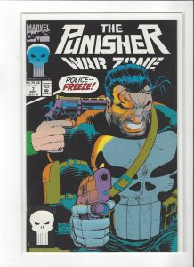The Punisher War Zone #7 (1992) John Romita Jr. Marvel Comics NM