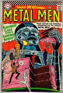 METAL MEN 20 GD July 1966
