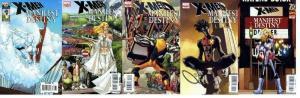 X MEN MANIFEST DESTINY (2008) 1-5 COMPLETE COMICS BOOK