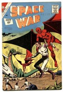 Space War #17 1962- Charlton Comics- wild cover VG-