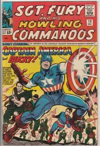 Sgt. Fury and His Howling Commandos CGC #13 (Dec-64) VF- High-Grade Sgt. Fury...