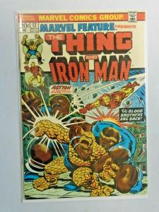 Marvel Feature #12 1st Series Thing Iron Man 5.0 (1973)