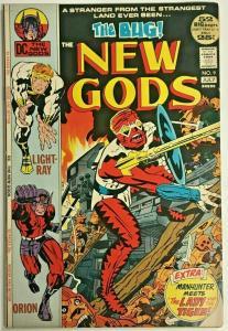 NEW GODS#9 FN/VF 1972 JACK KIRBY DC BRONZE AGE COMICS