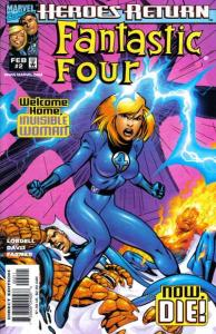 Fantastic Four (1998 series) #2, VF+ (Stock photo)