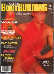 Female Bodybuilding #3 4/1987-Juliette Bergan-Kay Baxter-pix-info-VF