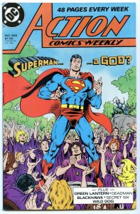 Action Comics Weekly 606 Jun 1988 NM- (9.2)