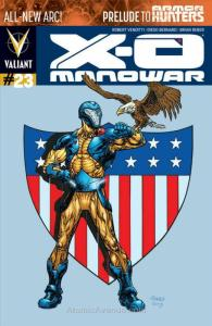 X-O Manowar (3rd Series) #23A VF/NM; Valiant | save on shipping - details inside