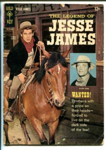 Legend of Jesse James #1 1965-Gold Key-Photo cover-Allen Case-Chris Jones-VG