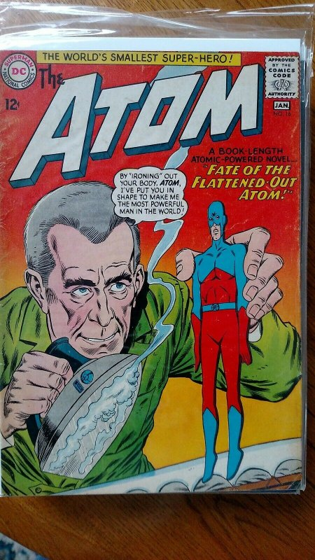 The Atom #16 (DC, 1965) Condition: VG/FN
