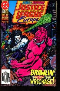 Justice League Europe #33 (1991)