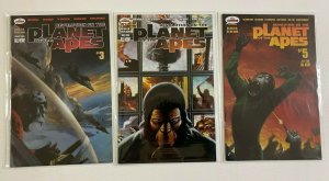 Revolution on the Planet of the Apes lot #3-5 MR Comics 3 pieces 8.0 VF (2006)