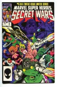 MARVEL SUPER HEROES SECRET WARS #6 Copper age comic book NM-