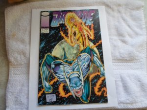 1993 IMAGE COMICS BRIGADE # 3 ( WITH COLLECTOR CARDS )